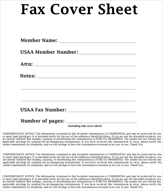 Printable Confidential Cover Sheet Sample Confidential Fax Cover Sheet 6 Documents In Word