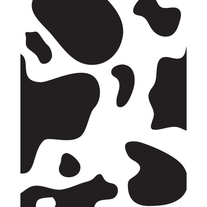 Printable Cow Spots Cow Spots Printed Backdrop