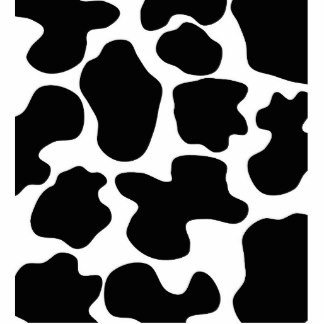 Printable Cow Spots Farm Animal Sculptures Cutouts and Farm Animal Cut Outs
