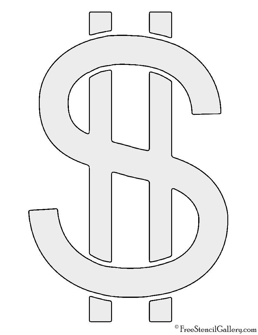 Printable Dollar Signs Dollar Sign