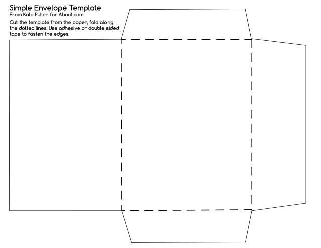 Printable Envelope Template Pdf 12 Free Printable Templates Bookmarks Pens