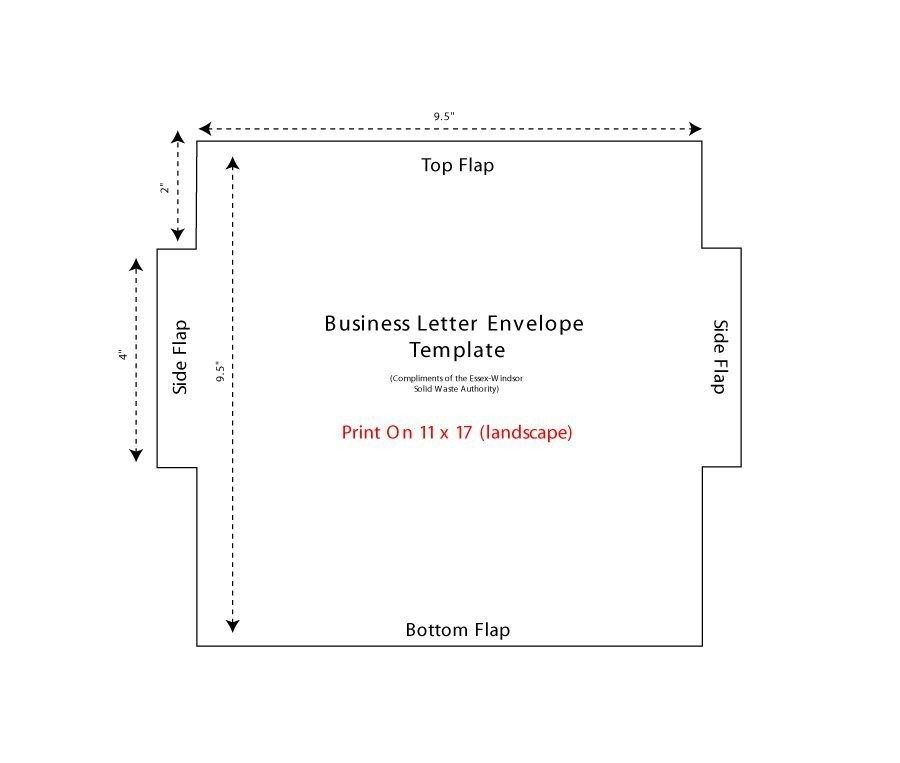 Printable Envelope Template Pdf 40 Free Envelope Templates Word Pdf Template Lab