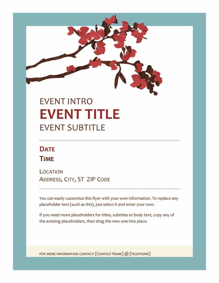 Printable event Program Template 40 Free event Program Templates Designs Template Archive