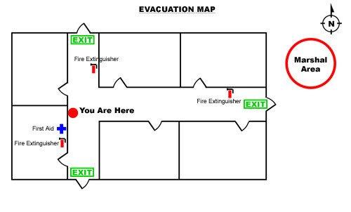 Printable Fire Escape Plan Template Printable Fire Escape Plan Template