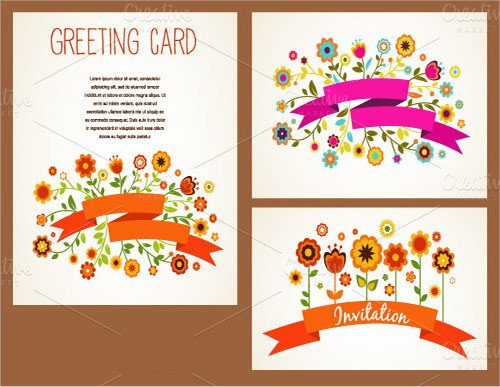 Printable Greetings Cards Templates Card Template Download Documents In Pdf Psd