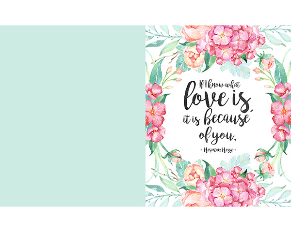 Printable Greetings Cards Templates Free Printable Mother S Day Prints and Greeting Cards