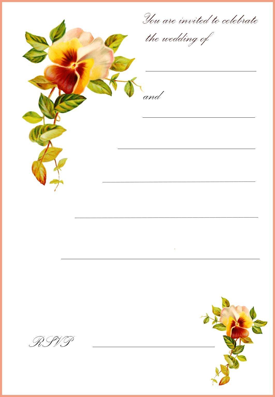 Printable Greetings Cards Templates Free Printable Wedding Clip Art