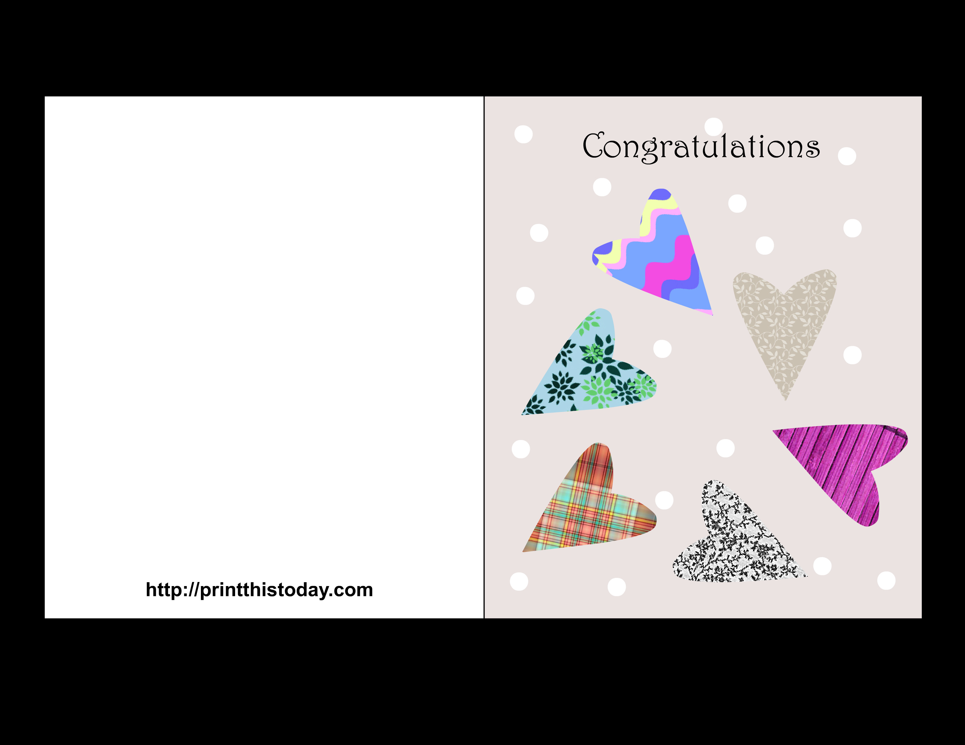 Printable Greetings Cards Templates Free Printable Wedding Congratulations Cards