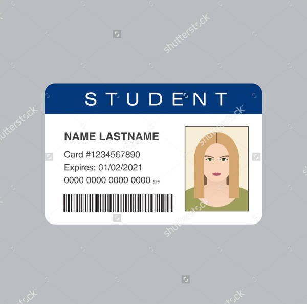 Printable Id Card Template 38 Id Card Templates Psd Eps Png
