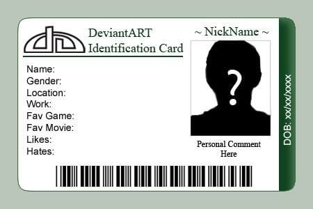 Printable Id Card Template Id Card Templates Word Excel Samples