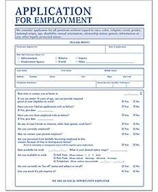 Printable Job Application In Spanish Job Application forms and Hiring Application forms