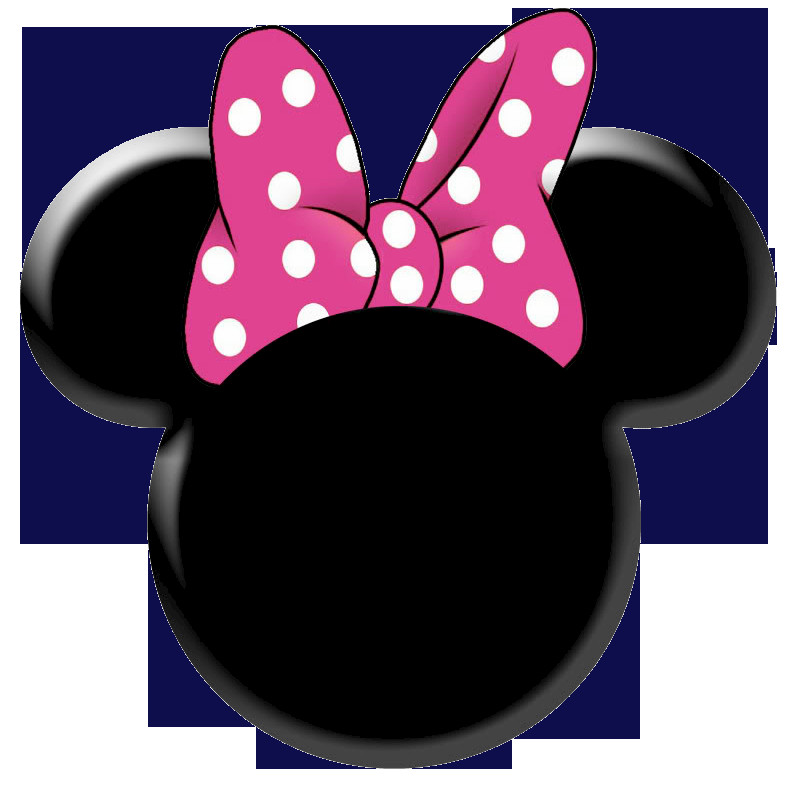 Printable Minnie Mouse Bow Minnie Mouse Silhouette Template Clipart Best