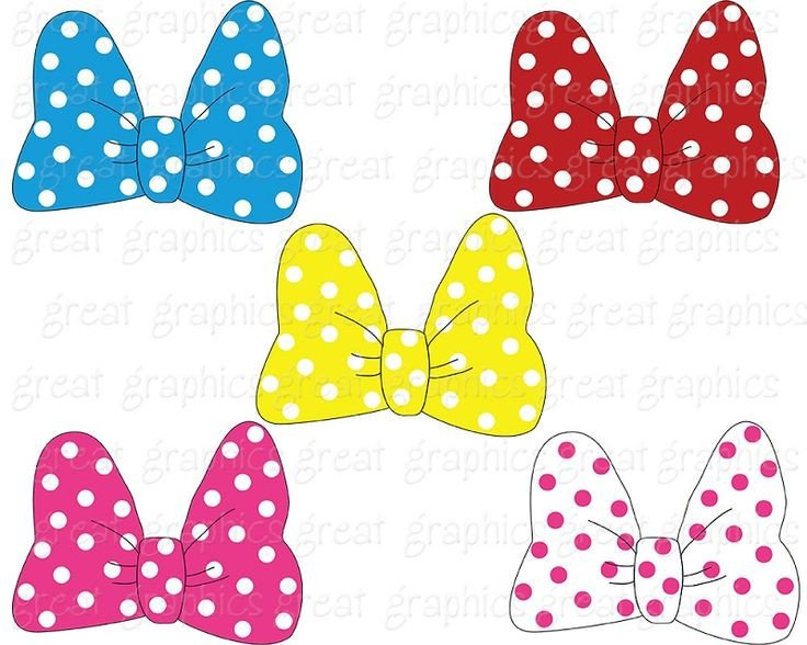 Printable Minnie Mouse Bows Minnie Mouse Bow Printable 19 Of 20
