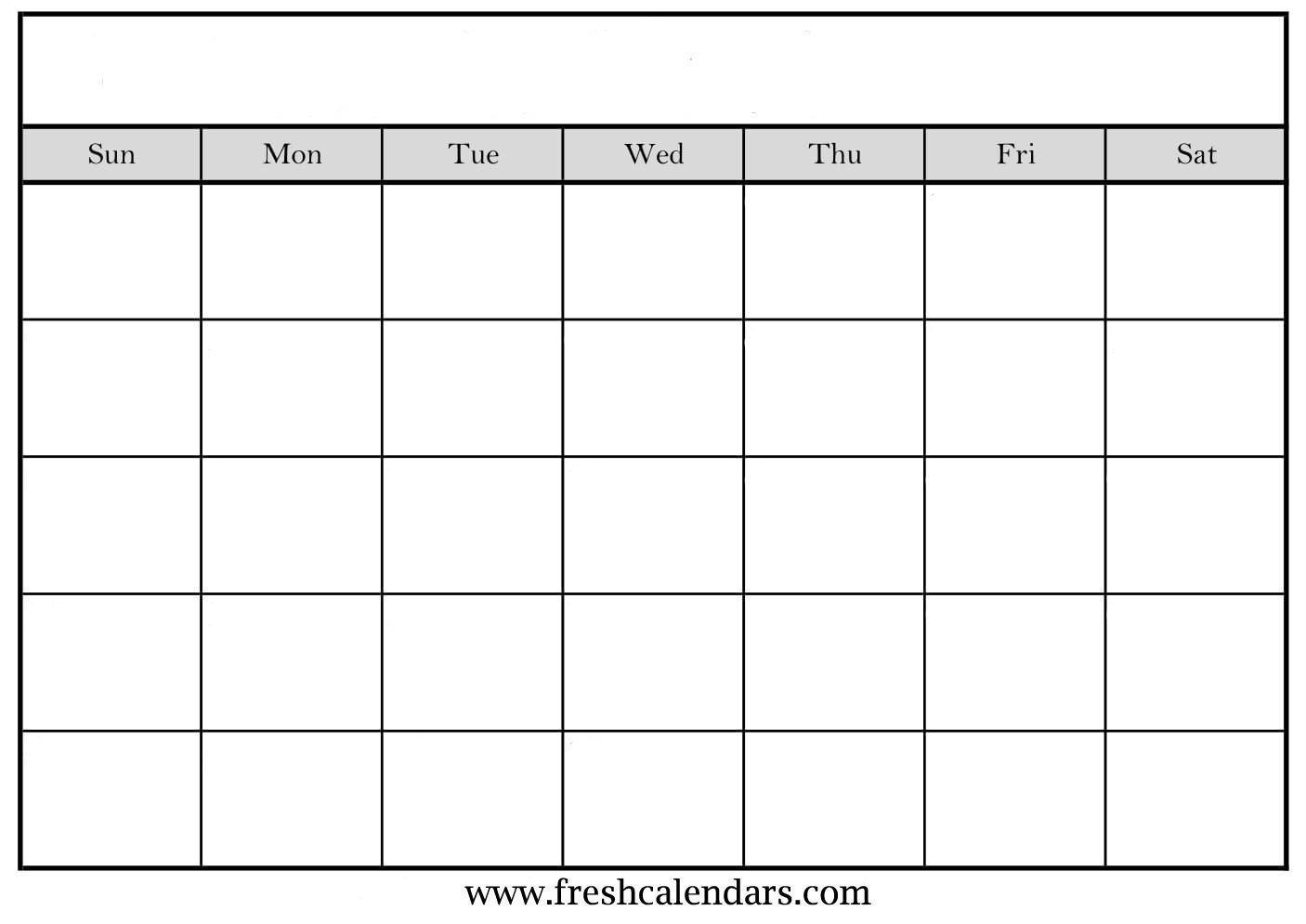 Printable Monthly Calendar Template Blank Calendar Wonderfully Printable 2019 Templates