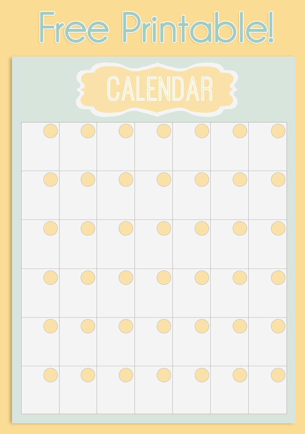 Printable Monthly Calendar Template Free Printable Weekly Meal Planner Calendar