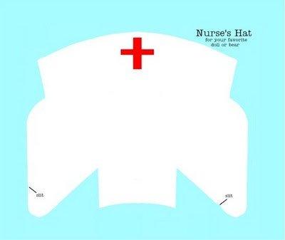 Printable Nurse Hat Template 1000 Images About Nurse Hat On Pinterest