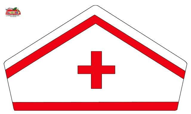 Printable Nurse Hat Template Letter N Activities