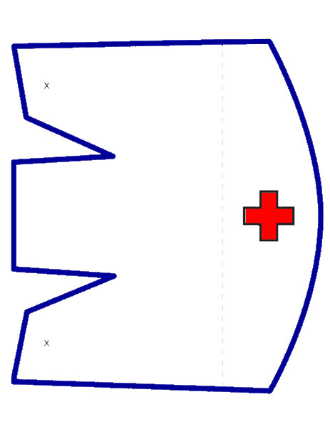 Printable Nurse Hat Template Nipiorama 10 28 13
