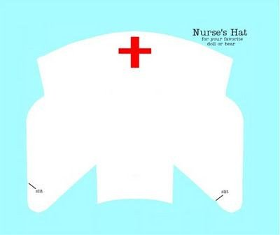 Printable Nurse Hat Template Nurses Hats and Inspiration On Pinterest