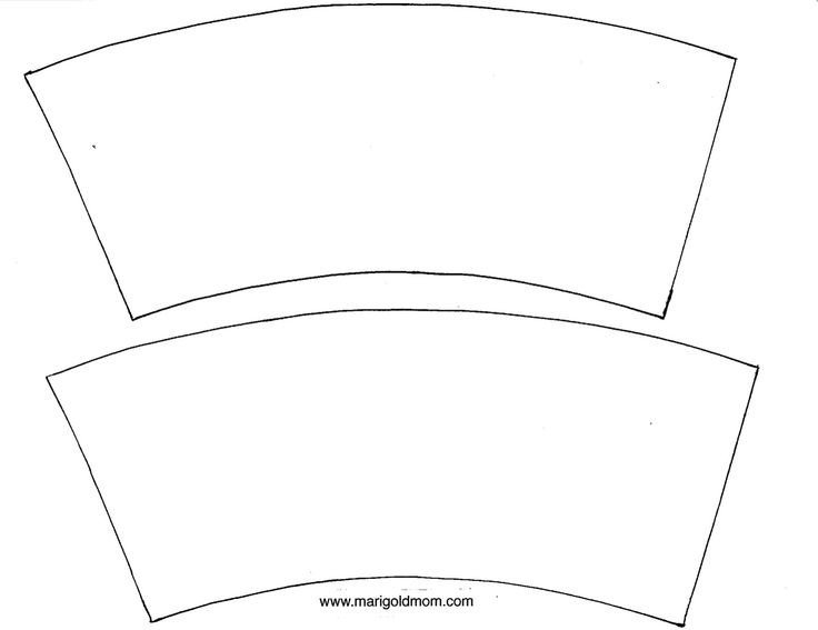 Printable Pottery Templates Cup Cover Template Diy