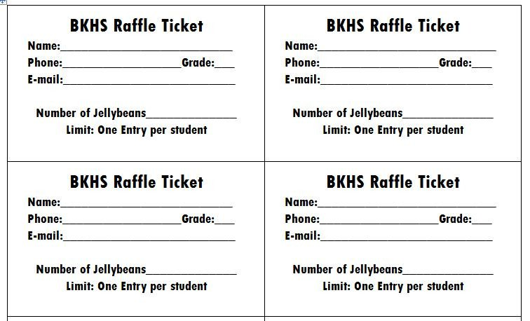 Printable Raffle Tickets Template 40 Free Editable Raffle & Movie Ticket Templates