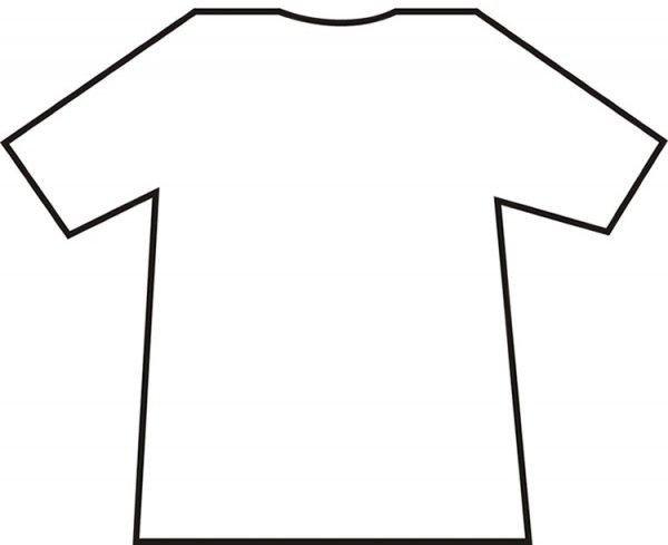 Printable T Shirt Templates Blank T Shirt Template T Shirt Templates