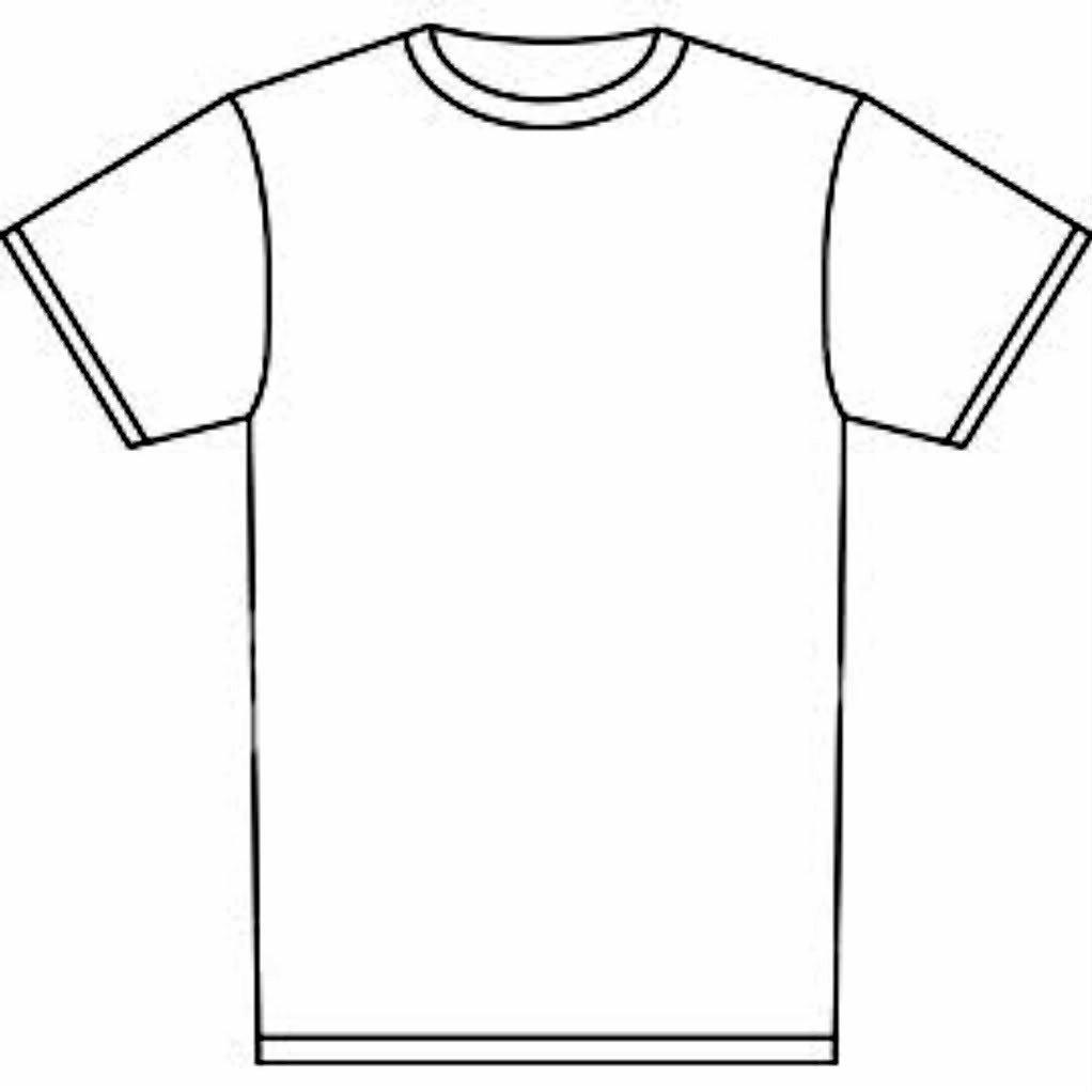 Printable T Shirt Templates Free T Shirt Template Printable Download Free Clip Art