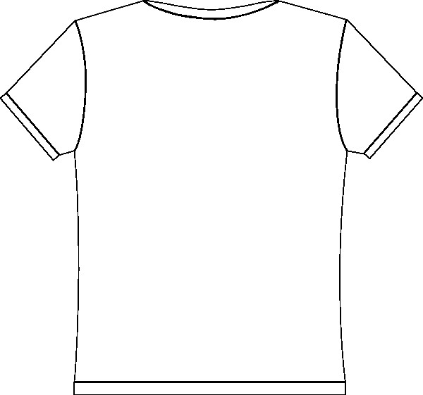 Printable T Shirt Templates Free T Shirt Template Printable Download Free Clip Art