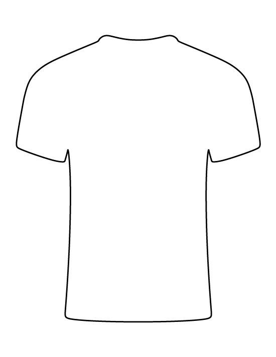 Printable T Shirt Templates Pin by Muse Printables On Printable Patterns at