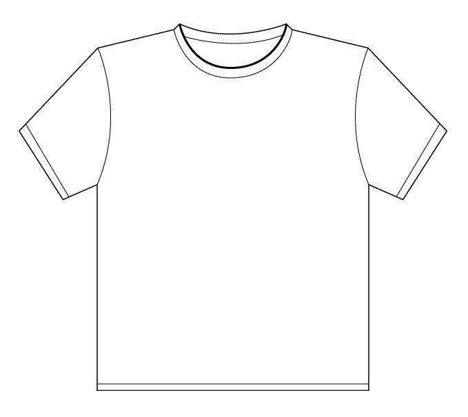 Printable T Shirt Templates T Shirt Outline Printable Clipart Best