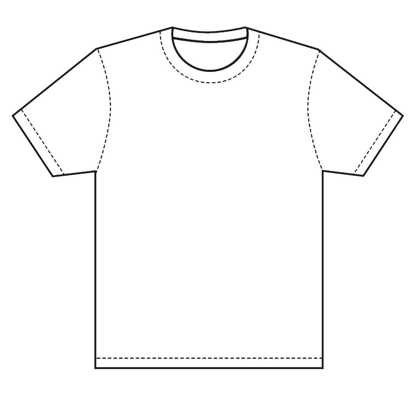 Printable T Shirt Templates T Shirt Template