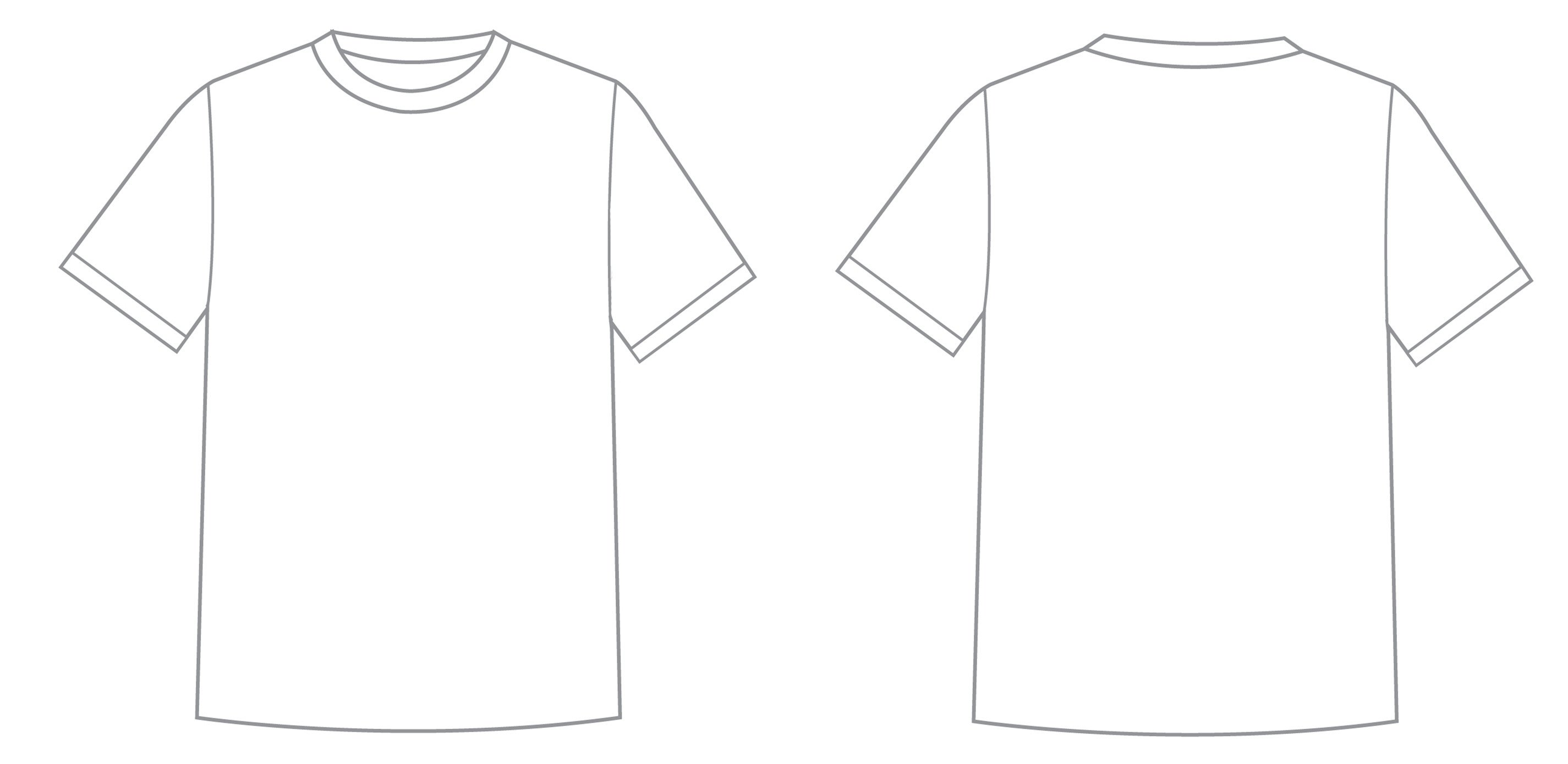 Printable T Shirt Templates What is T Shirt Template