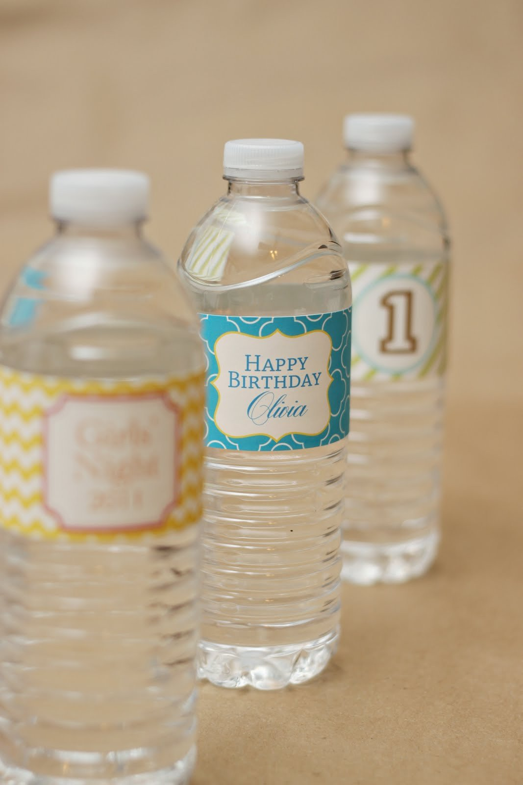 Printable Water Bottle Labels Favorite New Patterns for Party Printables – at Home with