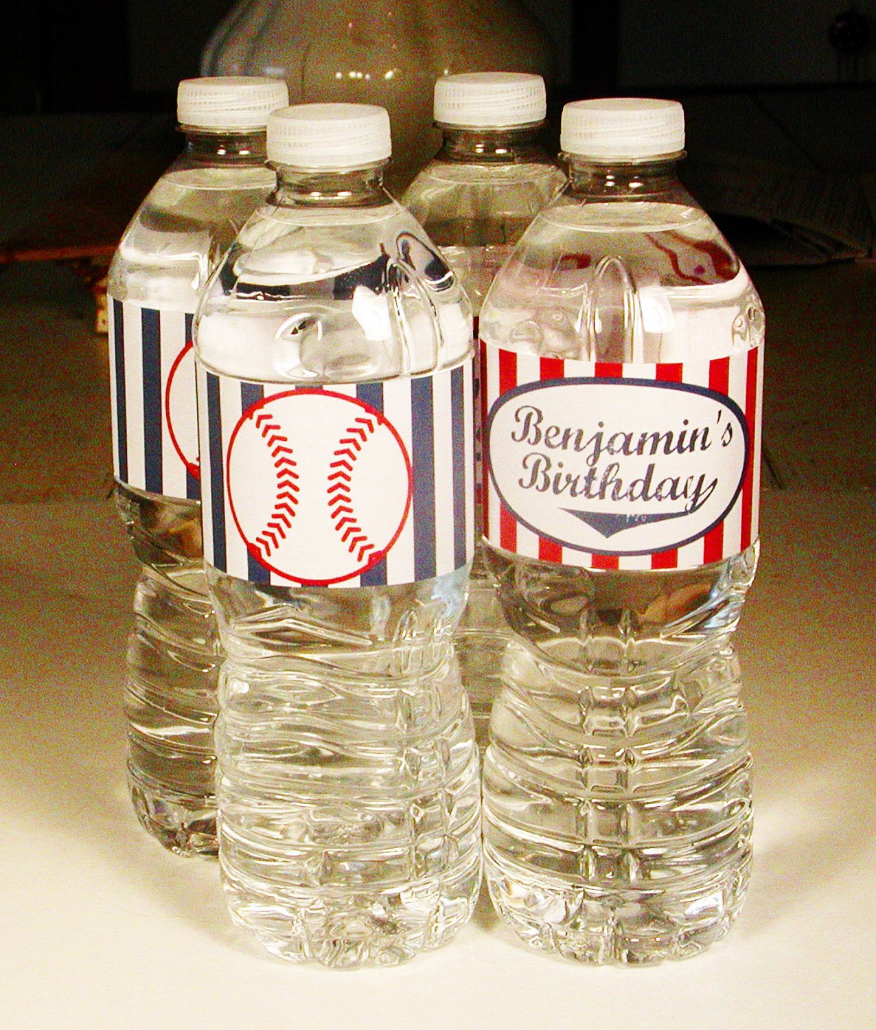 Printable Water Bottle Labels Printable Baseball Party Water Bottle Labels