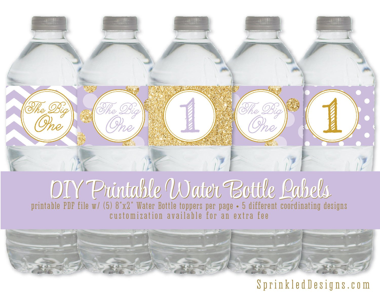 Printable Water Bottle Labels Printable Water Bottle Labels Drink Label Wrappers Wraps