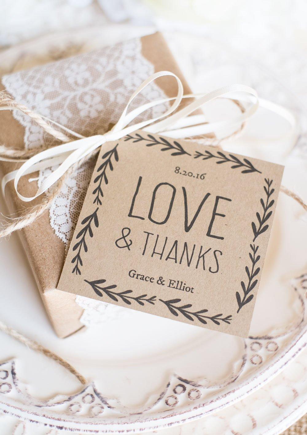 Printable Wedding Favor Tags Rustic Wedding Favor Tags Printable Favor Tag Template Kraft