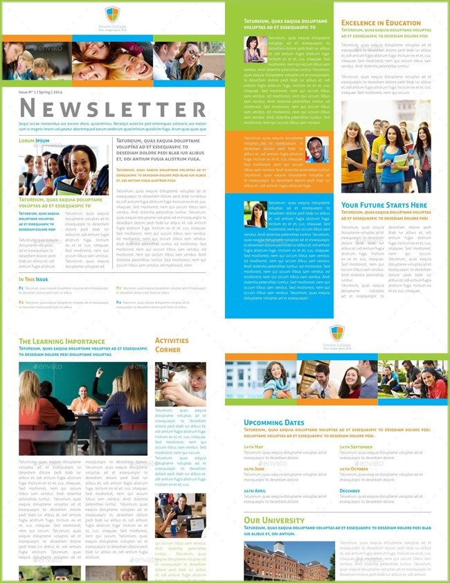 Printed Newsletter Templates Free 10 Classroom Newsletter Templates Free and Printable