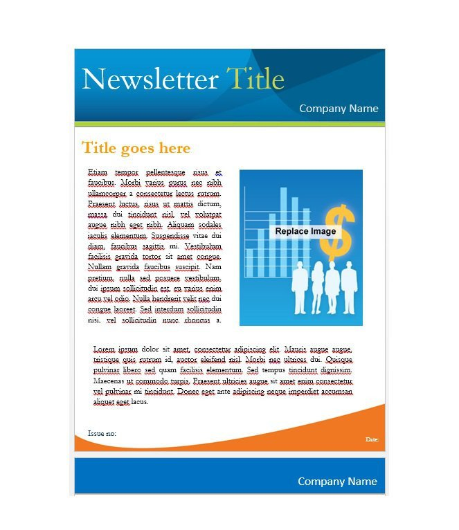 Printed Newsletter Templates Free 50 Free Newsletter Templates for Work School and Classroom