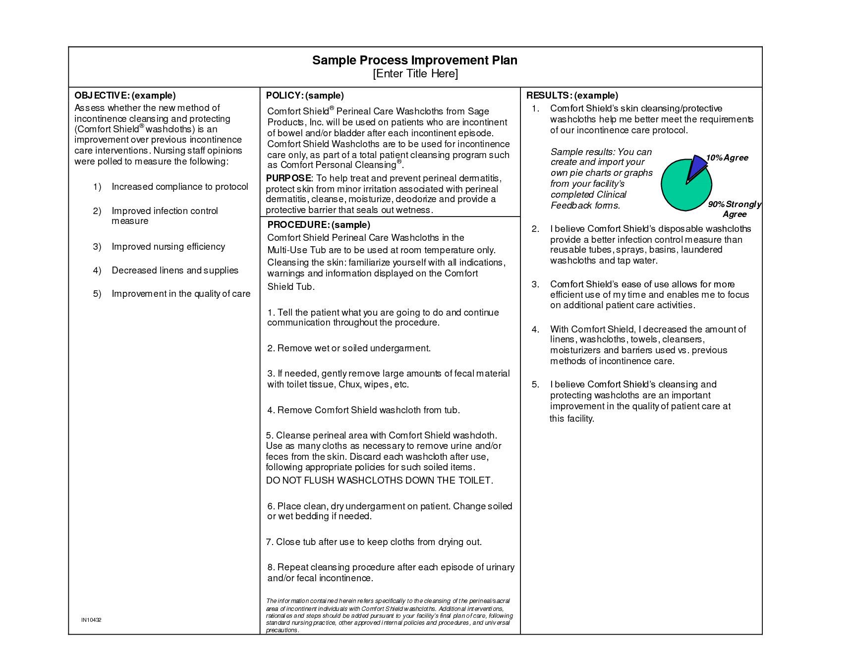 Process Improvement Plan Templates Business Process Improvement Plan Template 2010 the