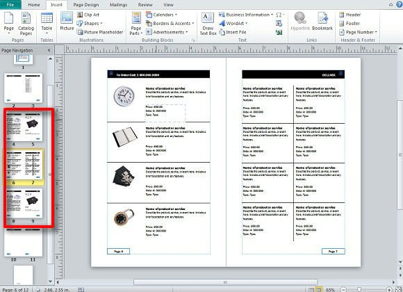 Product Catalog Template Word Creating and Publishing Catalogs for Your Business Using