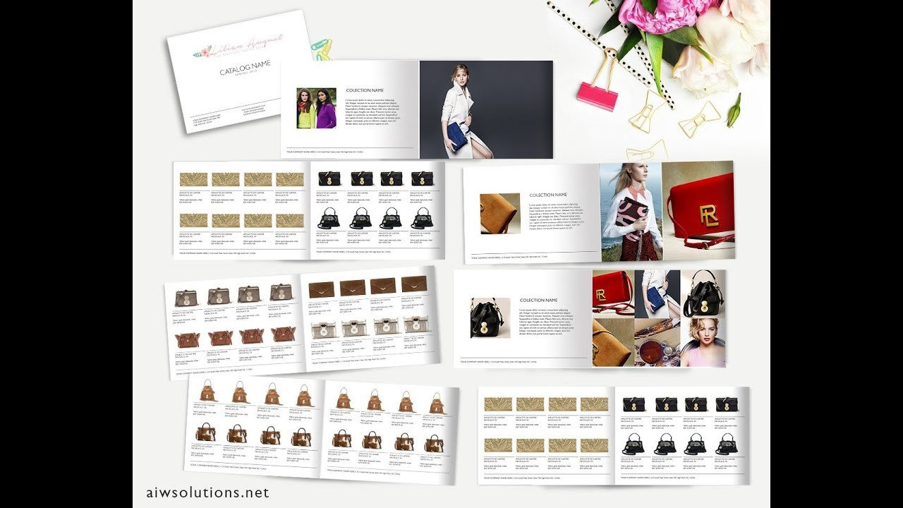 Product Catalog Template Word How to Create Catalog In Ms Word Template Id02