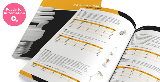 Product Catalog Template Word Indesign Free Catalog Template Pagination