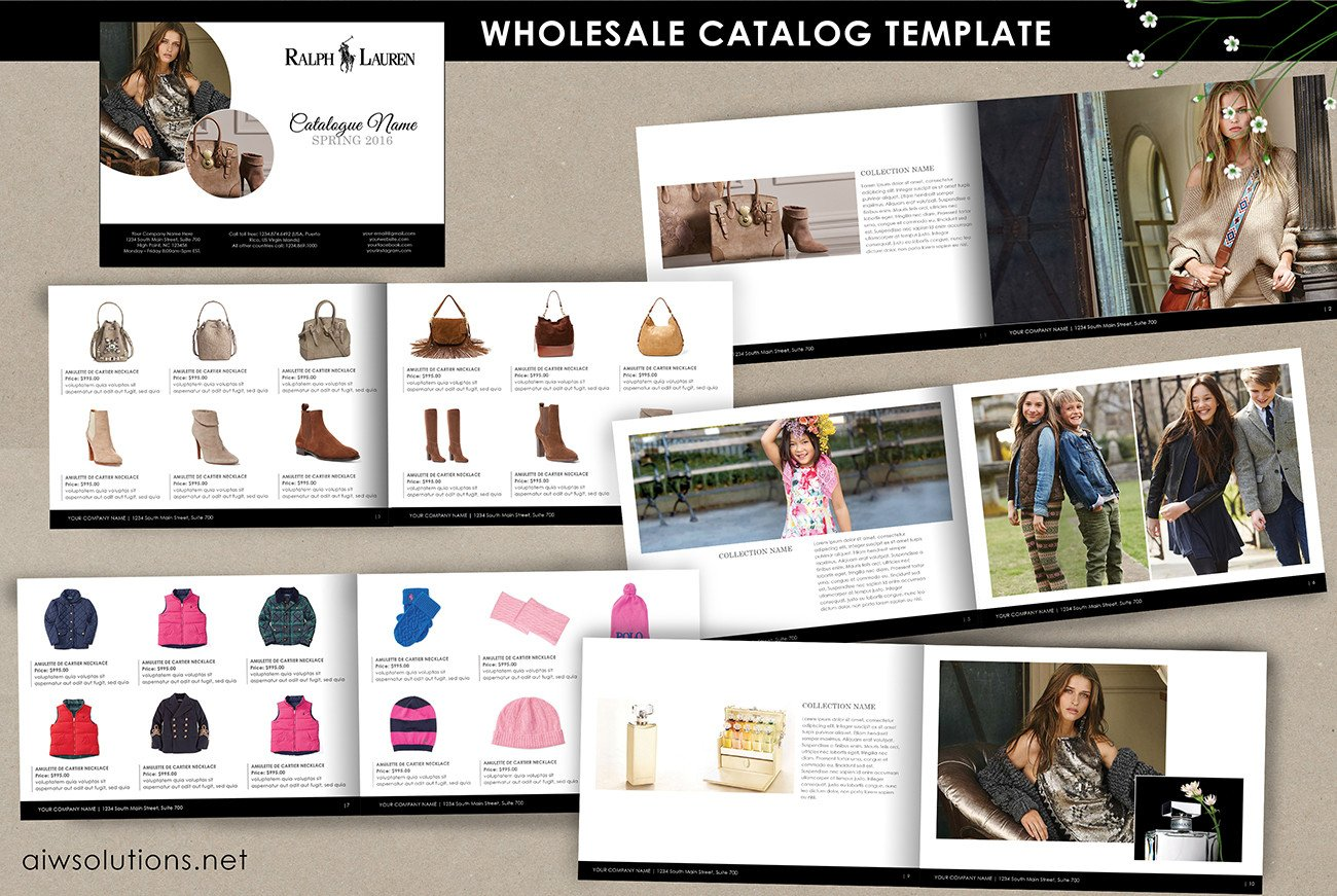 Product Catalog Template Word Ms Word Tutorials