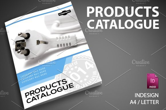 Product Catalog Template Word Product Catalog 6 Brochure Templates Creative Market