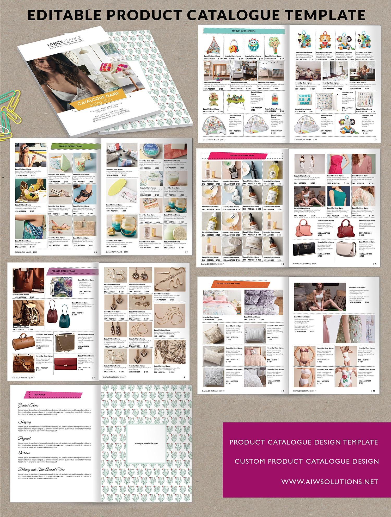 Product Catalog Template Word Product Catalog Template for Hat Catalog Shoe Catalog