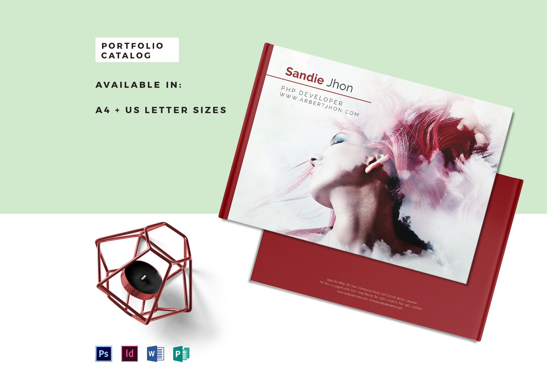 Product Catalogue Template Word Editable Portfolio Catalog Template In Psd Word