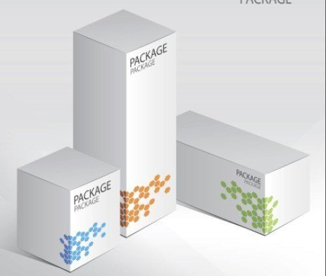 Product Packaging Design Templates Free Set Vector Elegant Product Packaging Design