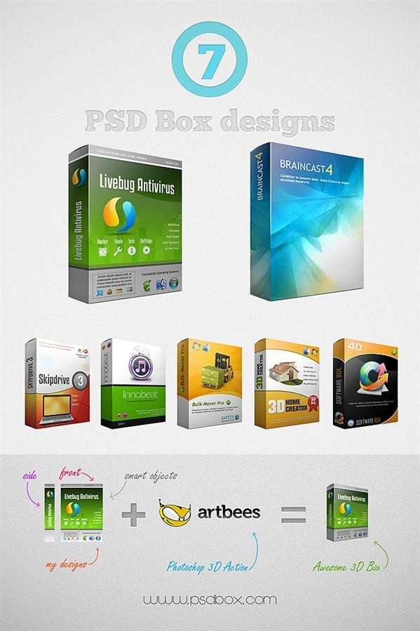 Product Packaging Design Templates Product Packaging Psd Mockup and Template