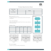 Product Spec Sheet Template Product Sheet Examples