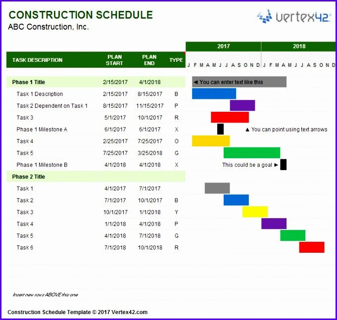 Project Management Schedule Template 7 Excel Implementation Plan Template Exceltemplates